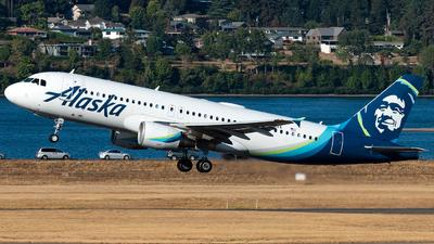 N841VA - Airbus A320-214 - Alaska Airlines
