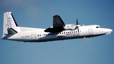 PH-DMB - Fokker 50 - Iberia Regional (Air Nostrum)