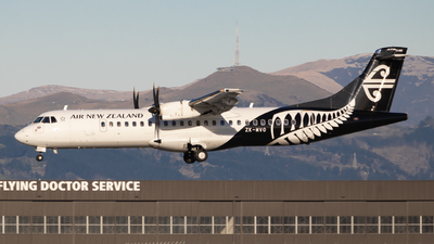 ZK-MVO - ATR 72-212A(600) - Air New Zealand