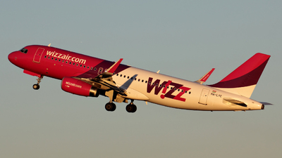 HA-LYC - Airbus A320-232 - Wizz Air