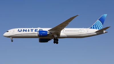 N29977 - Boeing 787-9 Dreamliner - United Airlines