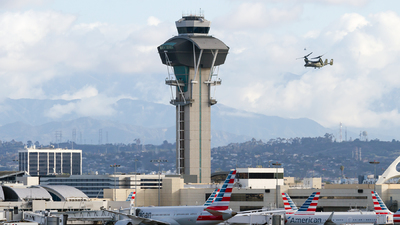 KLAX - Airport - Control Tower