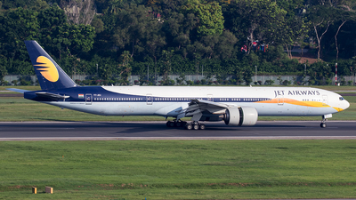 VT-JEU - Boeing 777-35RER - Jet Airways