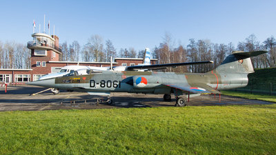 D-8061 - Lockheed F-104G Starfighter - Netherlands - Royal Air Force