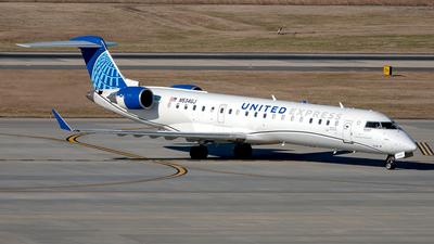 A picture of N534GJ - Mitsubishi CRJ550 - United Airlines - © Yan777