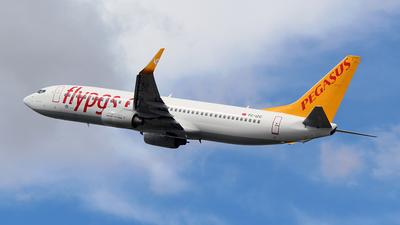 TC-IZC - Boeing 737-86J - Pegasus Airlines