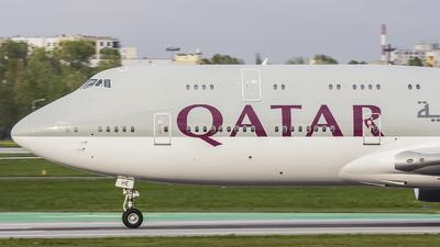 A7-HHE - Boeing 747-8K8(BBJ) - Qatar - Amiri Flight