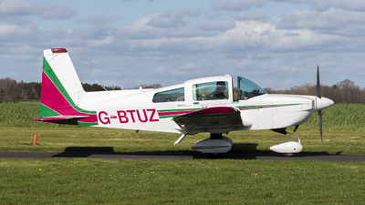 G-BTUZ - American General AG-5B Tiger - Private
