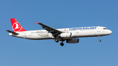 A picture of TCJRI - Airbus A321231 - Turkish Airlines - © Hanjo Schrenk