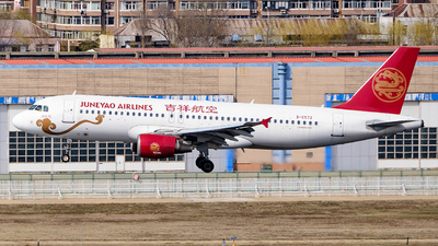 A picture of B6572 - Airbus A320214 - Juneyao Airlines - © MingyaoLeonardo