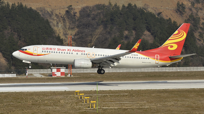 B-5135 - Boeing 737-84P - Shan Xi Airlines