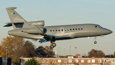OO-VMV - Dassault Falcon 900LX - Flying Service