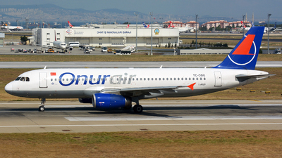 TC-OBG - Airbus A320-233 - Onur Air