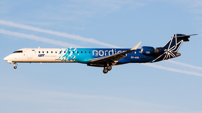 ES-ACD - Bombardier CRJ-900LR - LOT Polish Airlines (Nordica)