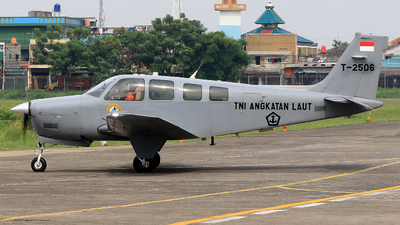 T-2506 - Beechcraft G36 Bonanza - Indonesia - Navy