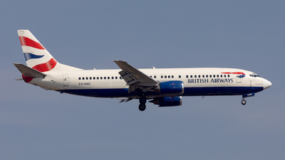 ZS-OAO - Boeing 737-4S3 - British Airways (Comair)