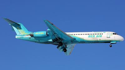 UP-F1004 - Fokker 100 - Bek Air