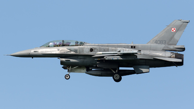 4083 - Lockheed Martin F-16D Fighting Falcon - Poland - Air Force
