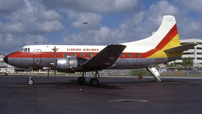 N258S - Martin 4-0-4 - Florida Air Lines