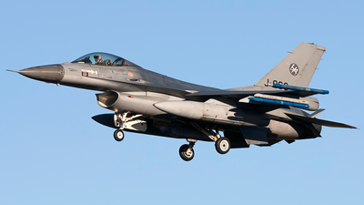 J-866 - General Dynamics F-16AM Fighting Falcon - Netherlands - Royal Air Force