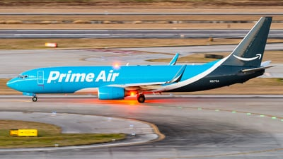 N5179A - Boeing 737-83N(BCF) - Amazon Prime Air (Southern Air)