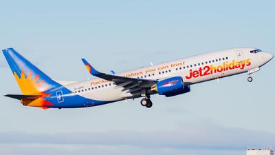A picture of GJZHF - Boeing 7378K2 - Jet2 - © Nigel Shim