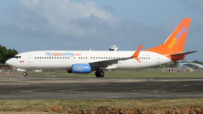 C-FTJH - Boeing 737-8BK - Sunwing Airlines