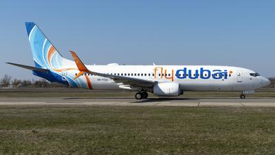 A picture of A6FEU - Boeing 7378KN - FlyDubai - © Loredana Cioclei