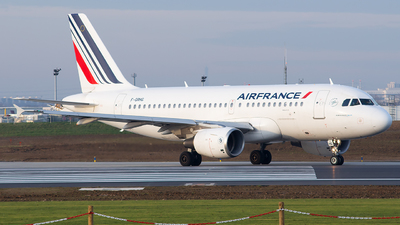 A picture of FGRHG - Airbus A319111 - Air France - © Baptiste Prevost