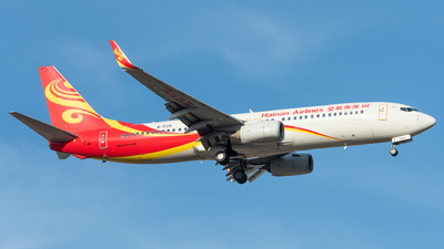 A picture of B7172 - Boeing 73786N - Hainan Airlines - © xuhaoqing995
