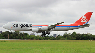 LX-VCA - Boeing 747-8R7F - Cargolux Airlines International