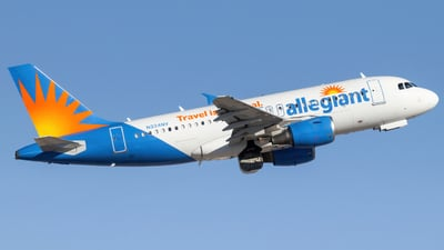 A picture of N324NV - Airbus A319111 - Allegiant Air - © Kamryn