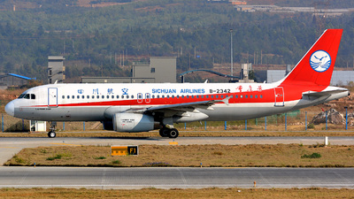B-2342 - Airbus A320-233 - Sichuan Airlines