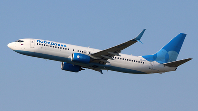 VP-BQY - Boeing 737-8MC - Pobeda