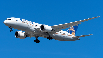 A picture of N27903 - Boeing 7878 Dreamliner - United Airlines - © Mingfei S