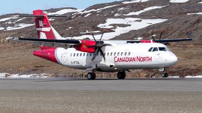 A picture of CFTIQ - ATR 42500 - Canadian North - © Brian Tattuinee