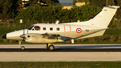 105 - Embraer EMB-121AA Xingú - France - Air Force
