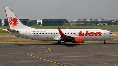 PK-LKJ - Boeing 737-8GP - Lion Air