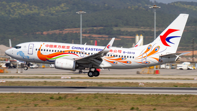 B-5819 - Boeing 737-79P - China Eastern Airlines
