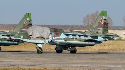 RF-95126 - Sukhoi Su-25SM Frogfoot - Russia - Air Force