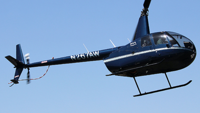 N267AW - Robinson R44 Clipper II - Executive Helicopters