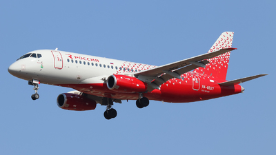 A picture of RA89127 - Sukhoi Superjet 10095B - Rossiya - © Vitaly Revyakin