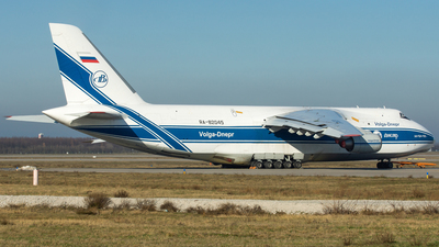 A picture of RA82045 - Antonov An124100 Ruslan - VolgaDnepr Airlines - © Stephan Wagner