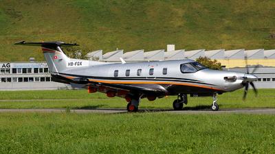 HB-FQX - Pilatus PC-12 NGX - Private