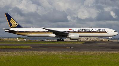 9V-SWU - Boeing 777-312ER - Singapore Airlines
