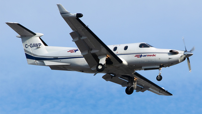 A picture of CGAWP - Pilatus PC12/45 - Pascan Aviation - © RZ