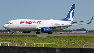 TC-JZT - Boeing 737-8JP - AnadoluJet