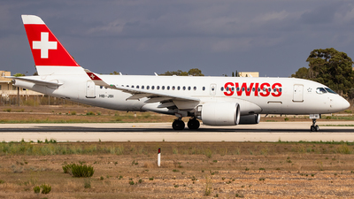 A picture of HBJBI - Airbus A220100 - Swiss - © RowenAquilina