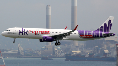B-LEF - Airbus A321-231 - Hong Kong Express