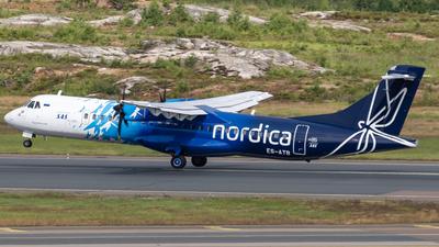 ES-ATB - ATR 72-212A(600) - Scandinavian Airlines (Nordica)